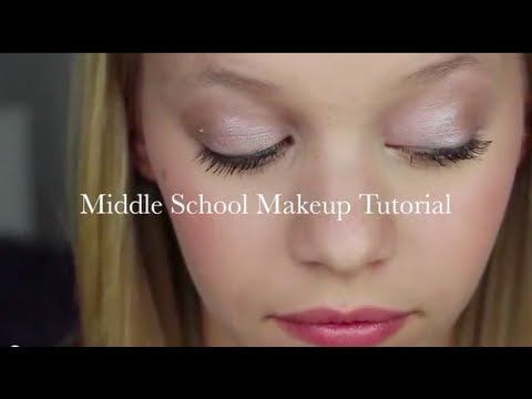 Middle School Makeup Tutorial (Drugstore Edition) @Tori Sdao Kaszuba @Kira Neal ...