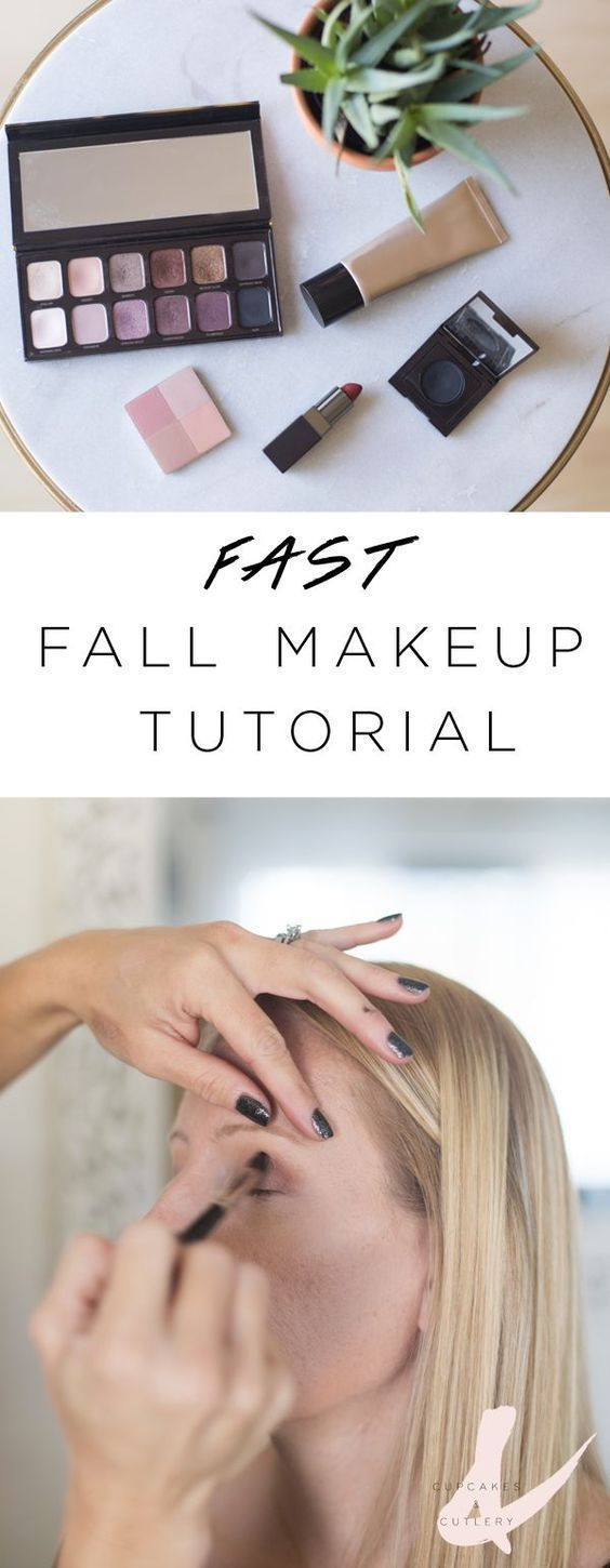 Mom makeup doesn't need to be boring! Here's a simple step by step fall ...