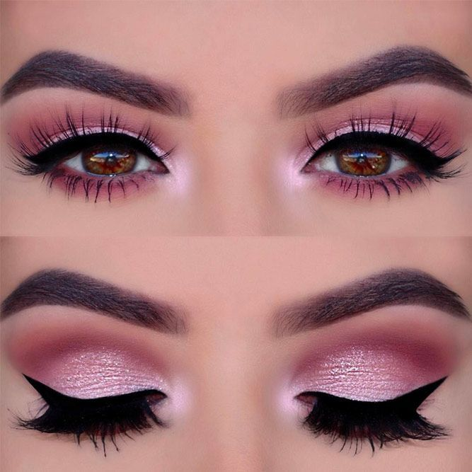 Pick the best combination of eyeshadow for brown eyes, and you will be the queen...
