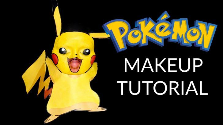 Pin for Later: 10 Pokémon-Inspired Makeup Tutorials Worth Trying This Halloween...