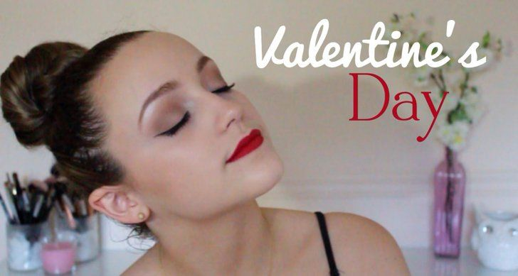 Pin for Later: Get Crafty With Your V-Day Makeup Using These Gorgeous Tutorials ...