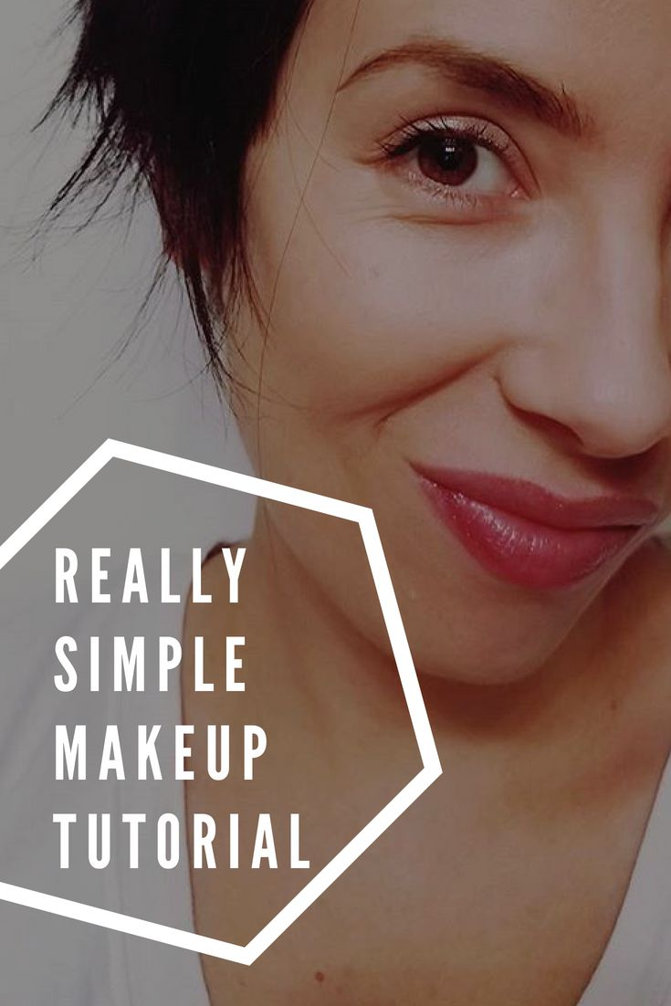 Super easy makeup tutorial for people who are just starting out! No crazy tools ...