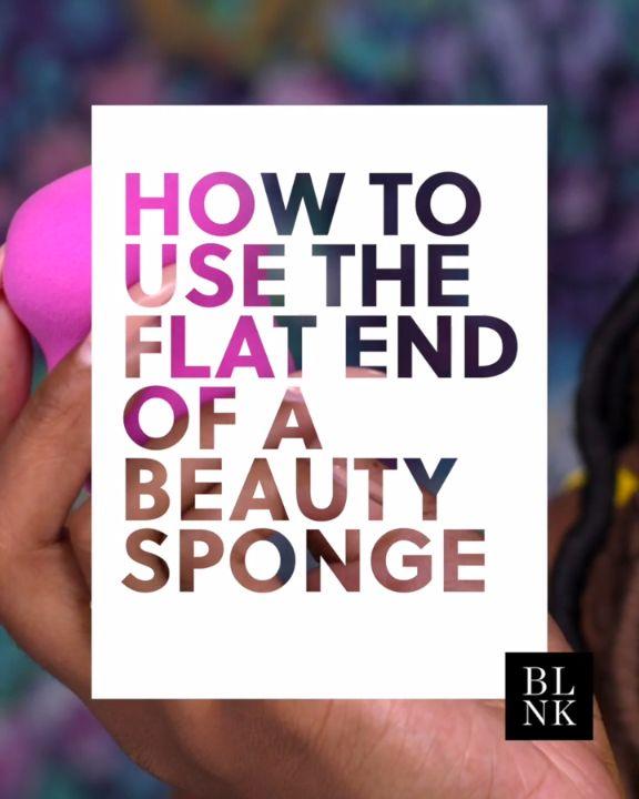 The Surprising Way to Use Your Beauty Sponge. #blinkbeauty #makeuptutorials