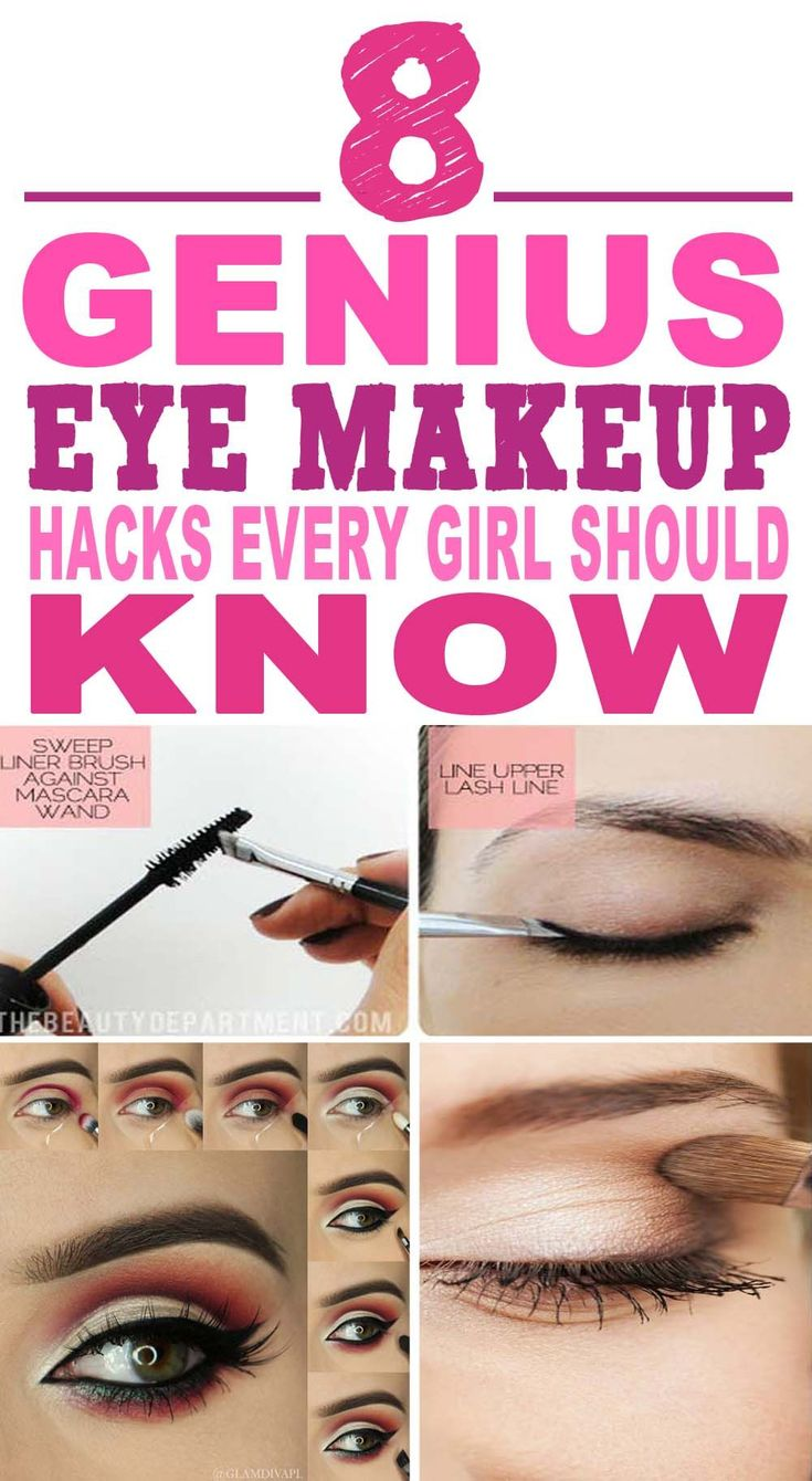 These are the most AMAZING eye makeup hacks I've ever seen!! Glad to have fo...