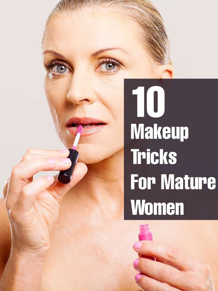 When you turn over 50, you need to know the right makeup application so as look ...