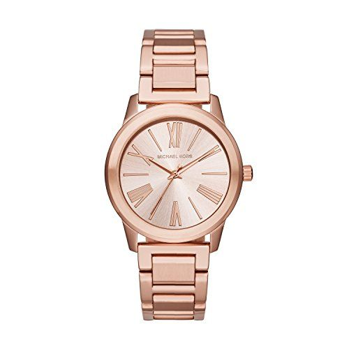 Michael Kors MK3491 Ladies Hartman Rose Gold Steel Bracelet Watch ** Want to kno...