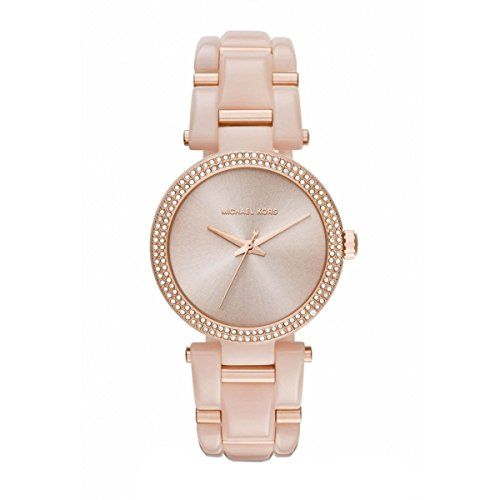 Michael Kors Women's Delray Watch - Rose Gold ** Click on the image for addi...