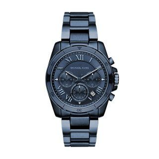 Michael Kors Womens Brecken Blue Watch MK6361 -- You can get more details by cli...