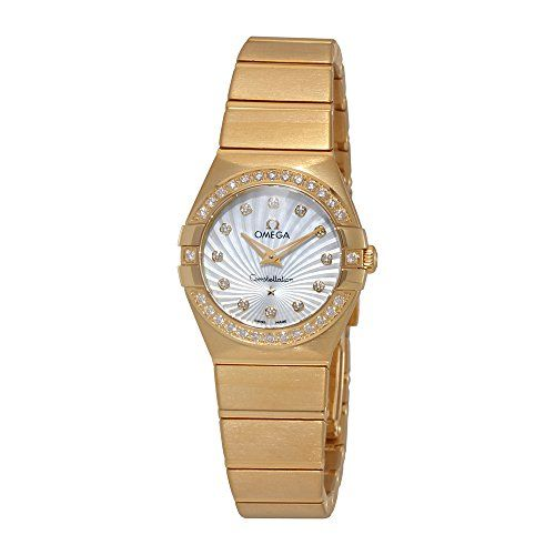 Omega Constellation Mother of Pearl Dial Watch 12355246055003 *** To view furthe...