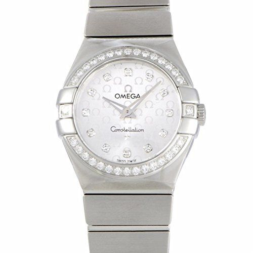 Omega Constellation quartz womens Watch 12315276052001 Certified Preowned ** Che...