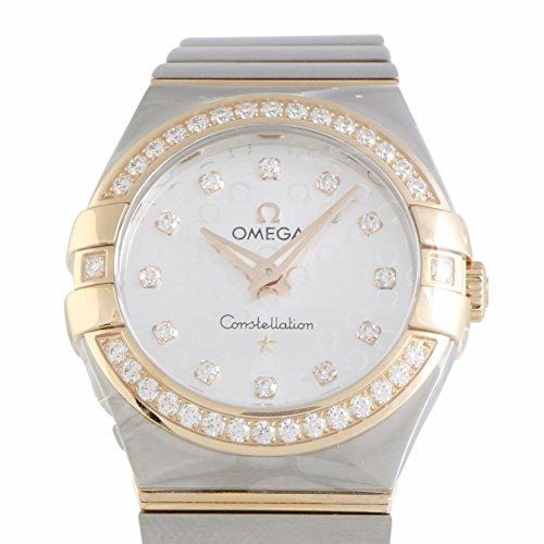 Omega Constellation quartz womens Watch 12325276052001 Certified Preowned * Read...