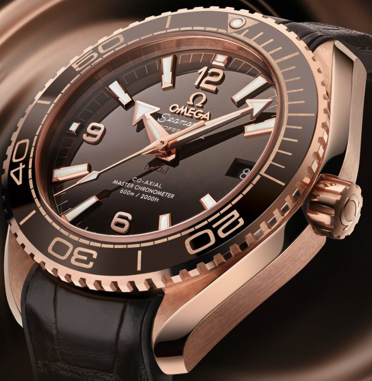 Omega Seamaster Planet Ocean 600M Master Chronometer 'Chocolate' Watch - by ...