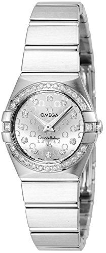 Omega Women's 123.15.24.60.52.001 Constellation Stainless Steel Watch with D...