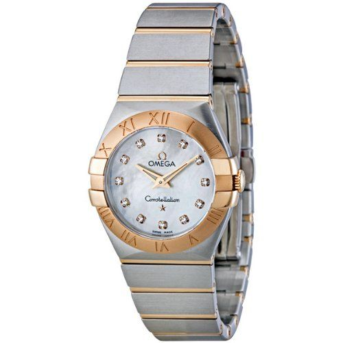 Omega Women's 123.20.27.60.55.001 Mother-Of-Pearl Dial Constellation Watch *...