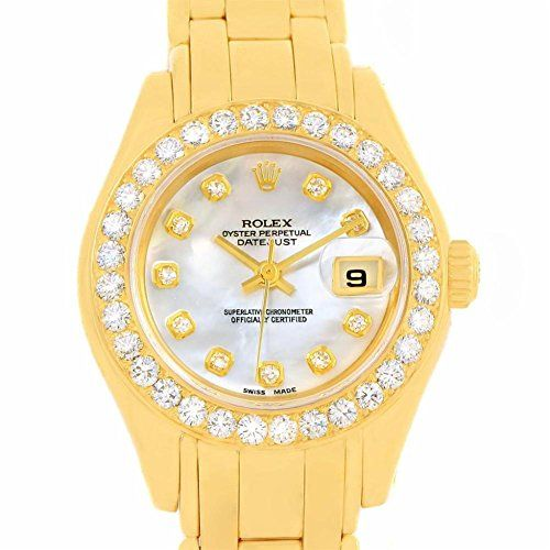 Rolex Pearlmaster automatic-self-wind womens Watch 69298 (Certified Pre-owned) *...