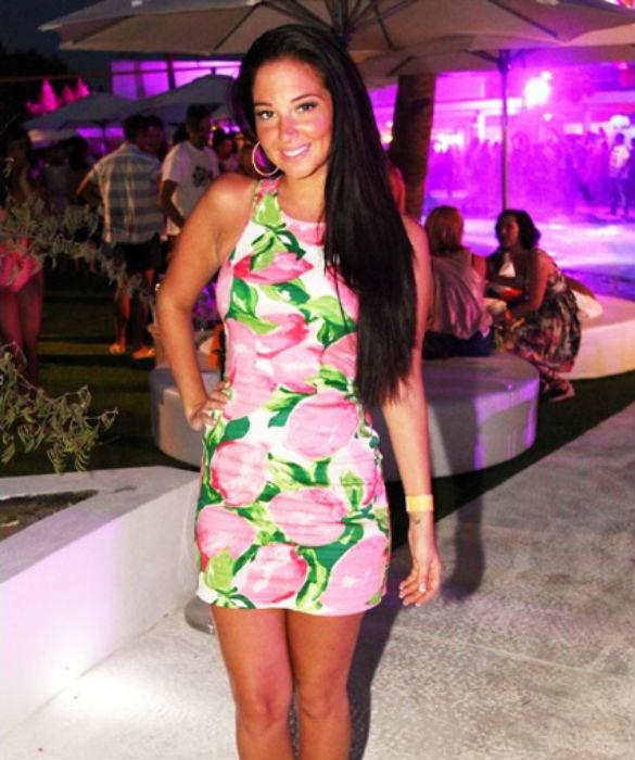 PHOTOS: X Factor's Tulisa Enjoys The Single Life In Ibiza -