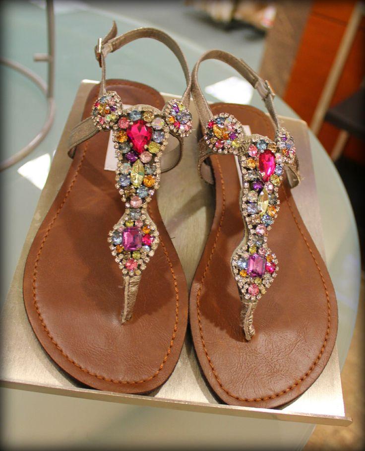 Jewel sandals