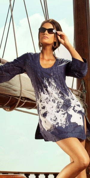Verano High 2013 Nantucket Cover Up - Cover-ups southbeachswimsui...