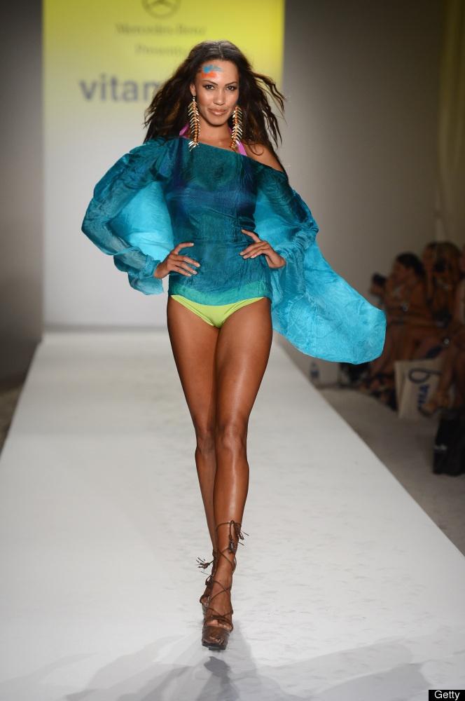 Vitamin A by Amahlia Stevens at @Mercedes-Benz USA Fashion Week Swim 2013 in Mia...