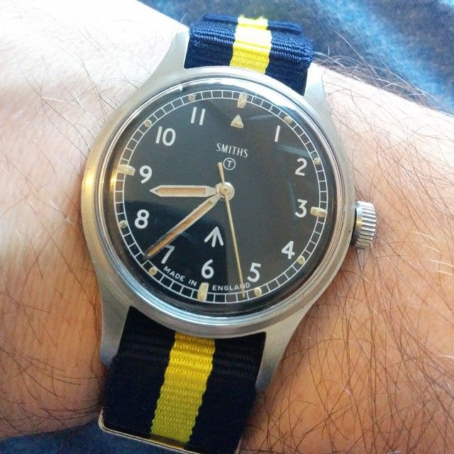 """""""Another smiths military W10 in amazing original condition dated 1970 classic ..."""