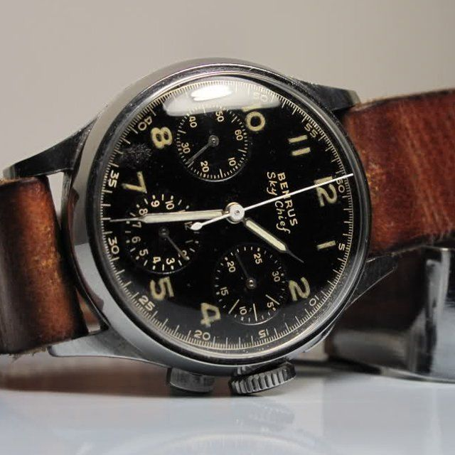 1940's Benrus Sky Chief Watch
