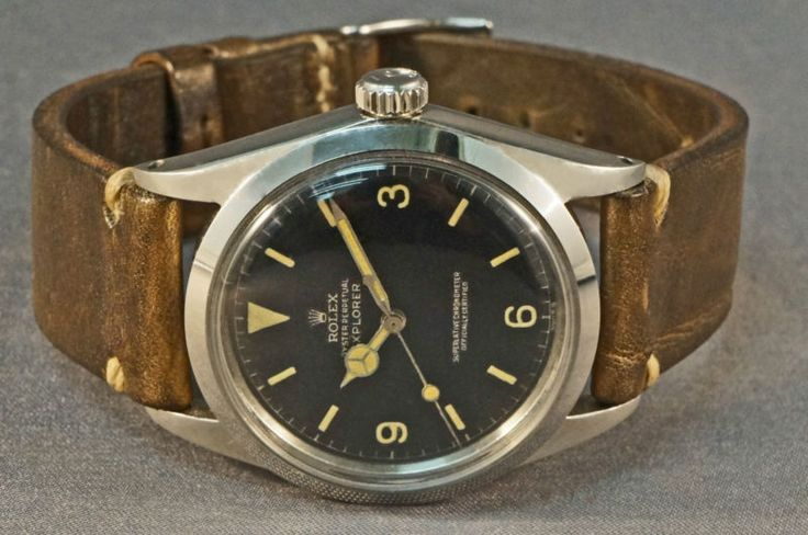 1960 Rolex 1016 Explorer, Gilt Chapter Ring Dial, Excellent Example