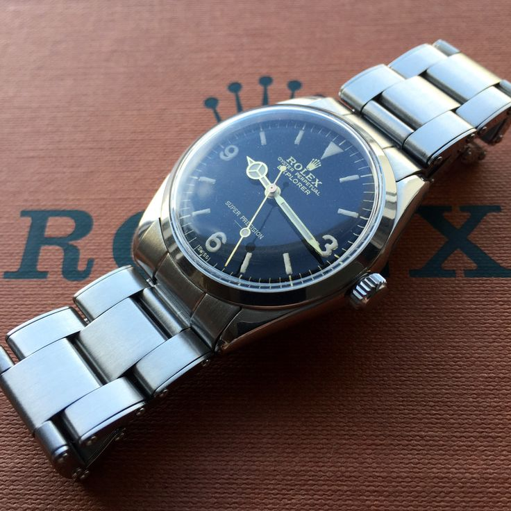 1965 Rolex 5500 Explorer Gilt Underline dial