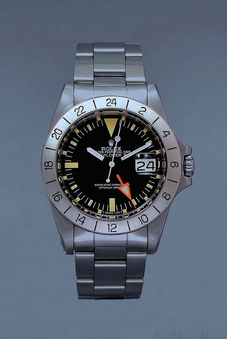 A Rare gents ROLEX, EXPLORER II, REF. 1655, STEVE MCQUEEN STAINLESS STEEL AUTOMA...