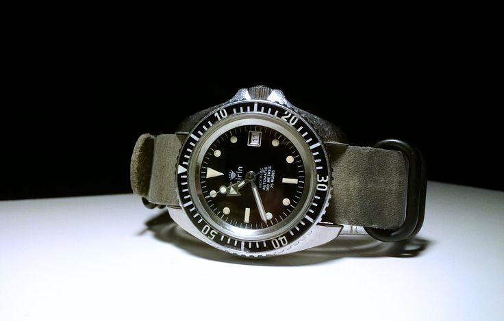 AIRIN (DODANE) Military Diver, ca. 350-400 pieces ever made, 1980s (Private Coll...