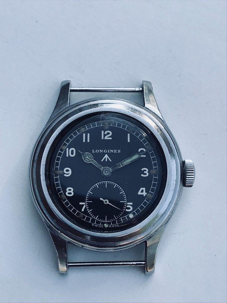 British Military WWW Longines 'Dirty Dozen' 'Greenlander Wrist Watch