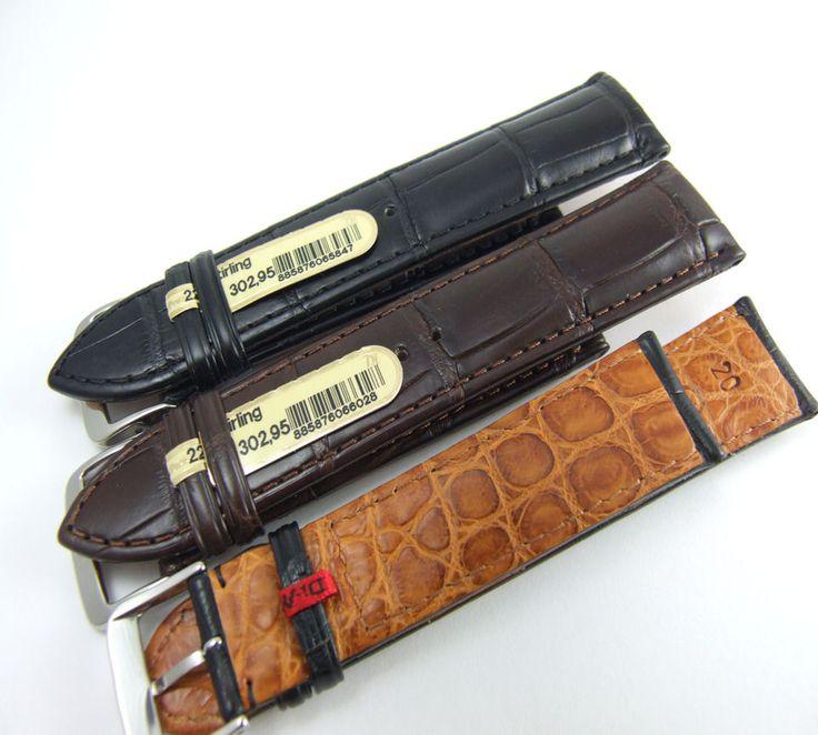 Di-Modell (Germany) Stirling Genuine Alligator strap. MSRP: $300 USD Sale: $252....