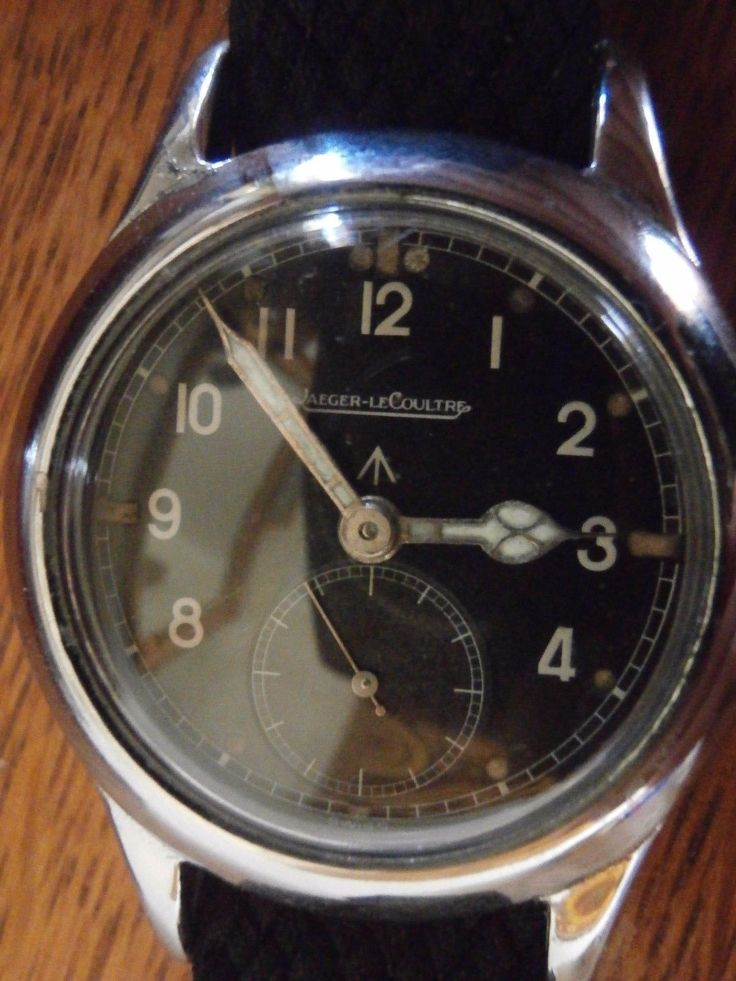 Extremely rare Jaeger LeCoultre pilots watch. Only issued to governments, Jaeger...