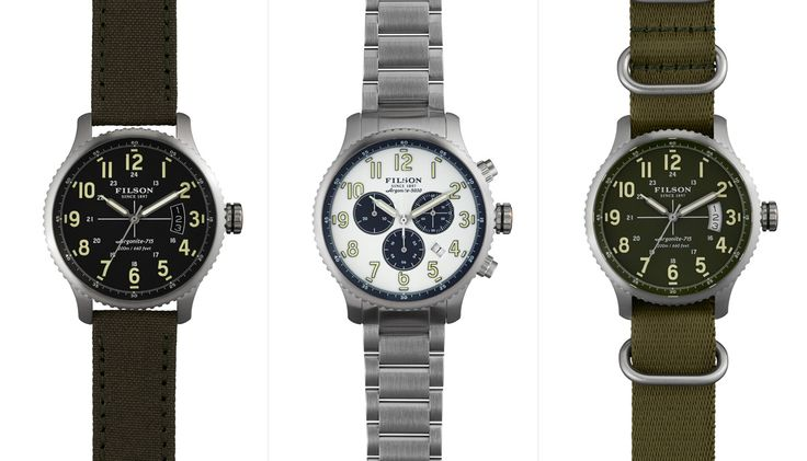 Filson's Watch Line Now Available - COOL HUNTING