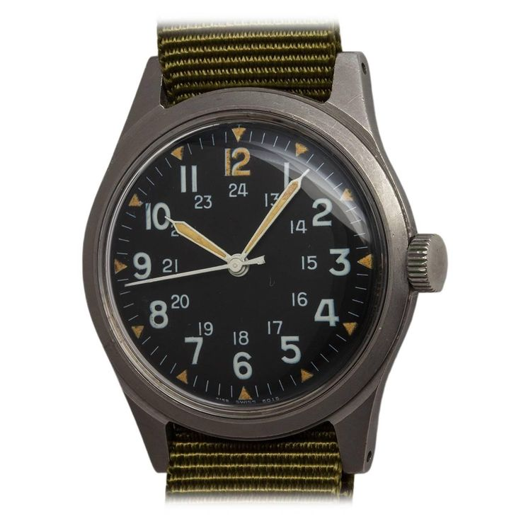 Hamilton US Military Issue Vietnam Era Wristwatch c. 1975 1