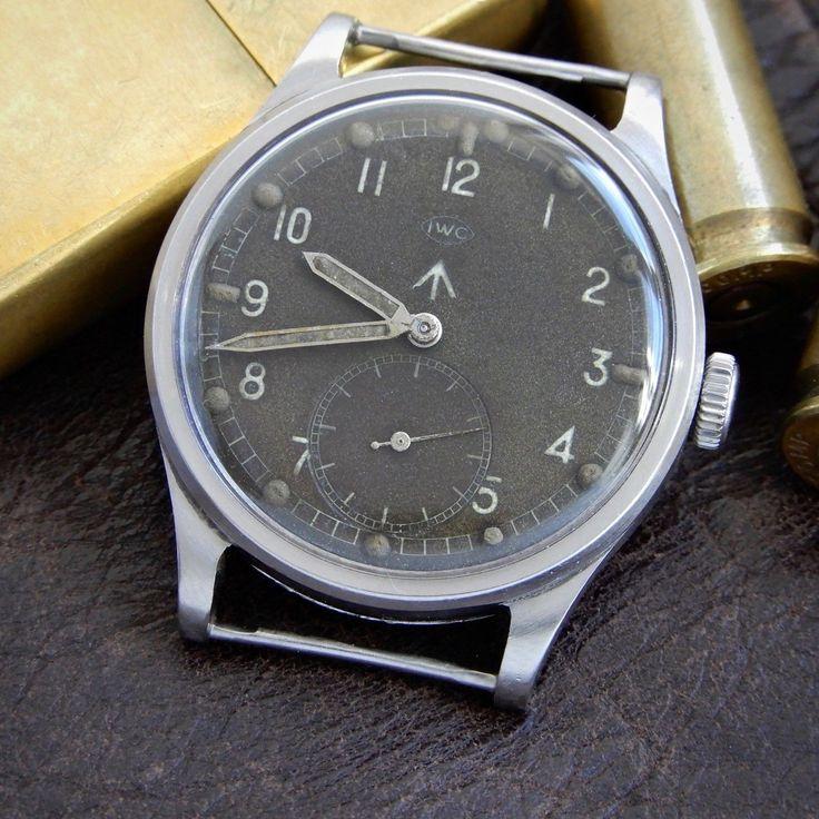 IWC Mark X Cal 83 Original Radium Dial WWW British Military Dirty Dozen Watch