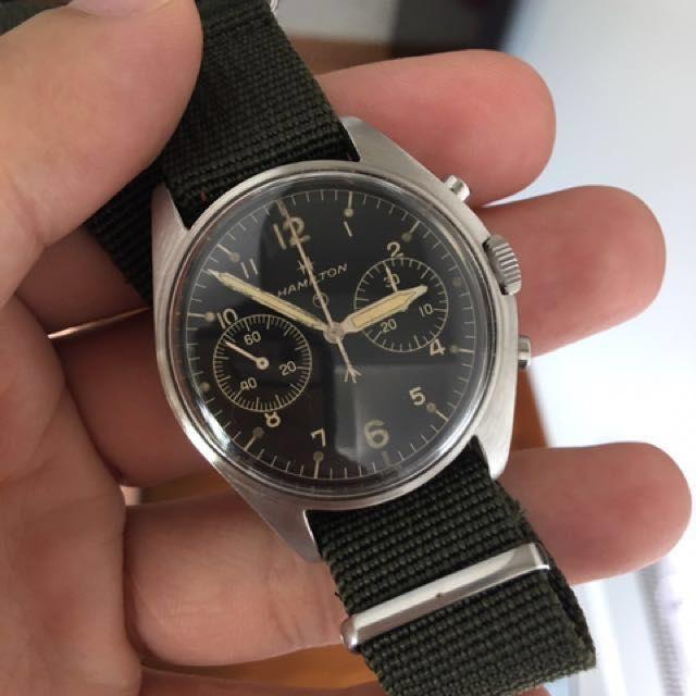 Image result for vintage hamilton chronograph
