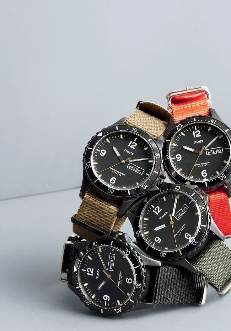 Introducing the Timex® for J.Crew watch.