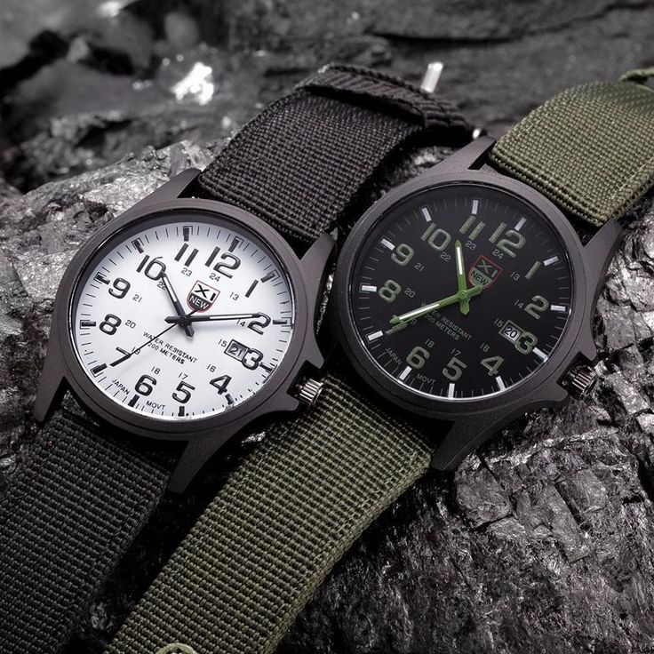 Let the XINEW Military Watch provide a bold and strong statement to your lifesty...