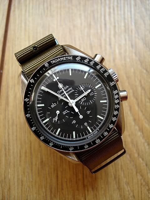 NATO Strap on Speedmaster - Yes or No?