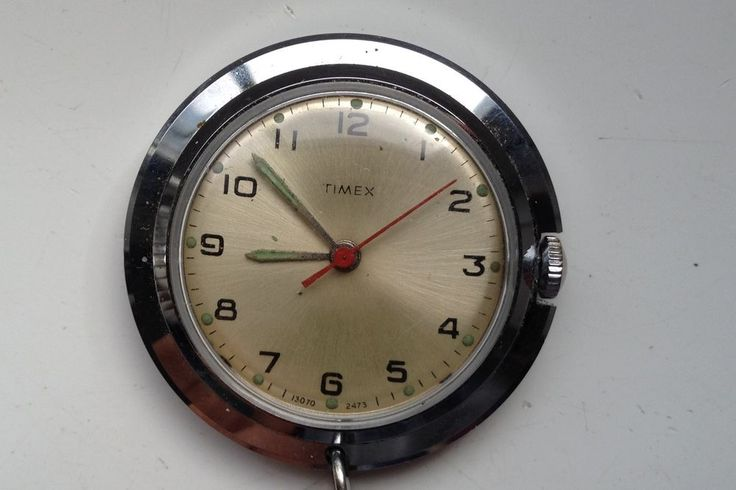 ON AUCTION ON THURSDAY 21 JULY FROM 8pm.....VINTAGE TIMEX 35mm NURSES FOB WATCH ...