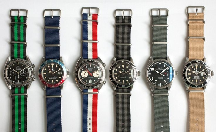 Oh my. (Click on photo for high-res. image.) These Hondinkee NATO's can be purch...