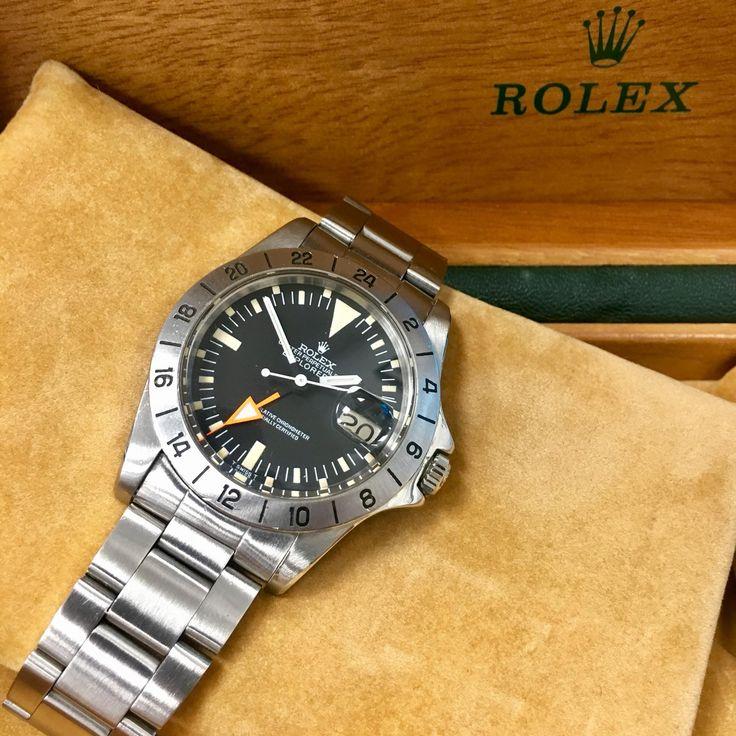 Pre-owned Rolex Explorer II Dial Colour : Black Collection : Explorer Style : Ma...