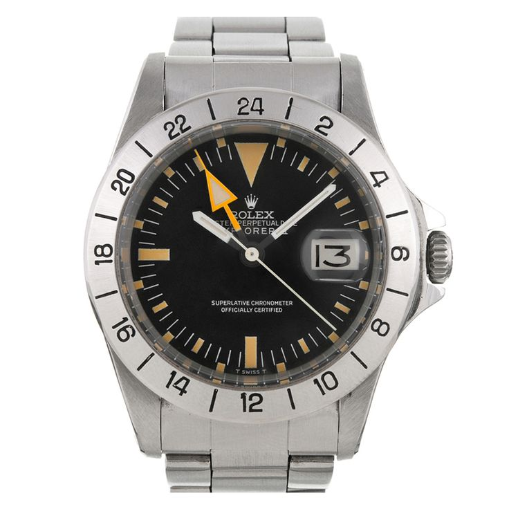 ROLEX First Series Straight Hand Explorer II Steve McQueen Watch