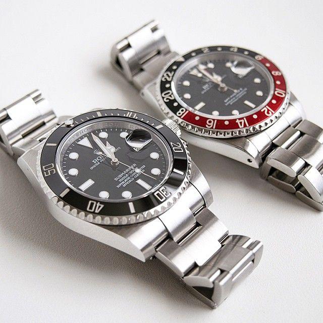 Rolex Sub & GMT
