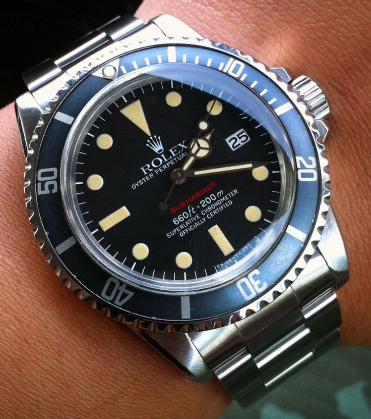Rolex Submariner Single Red