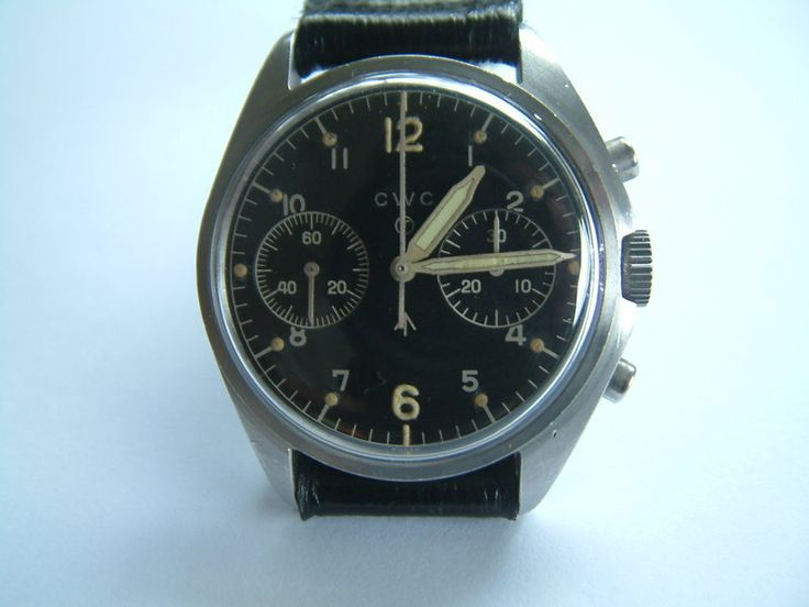 SOLD: RAF CWC Chronograph Wristwatch