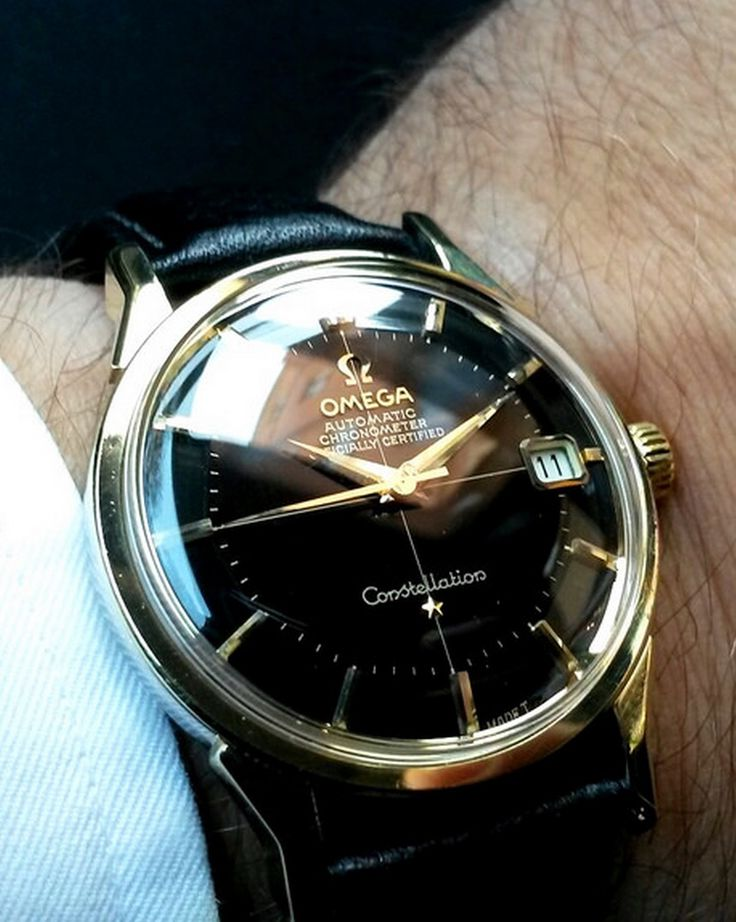 Superb Vintage OMEGA Constellation Piepan Chronometer In Gold-Cap Circa 1960s - ...