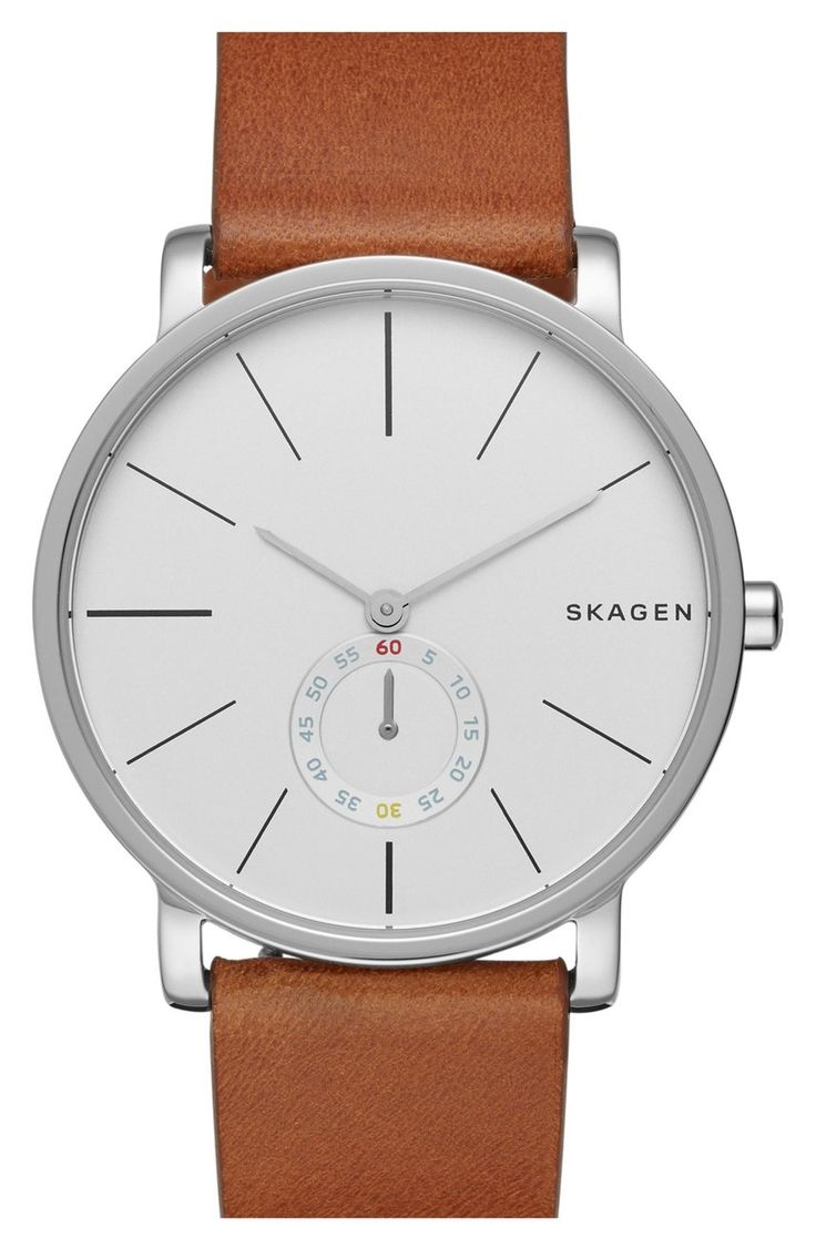 This Skagen watch is classic and timeless, something Dad can continue to wear fo...