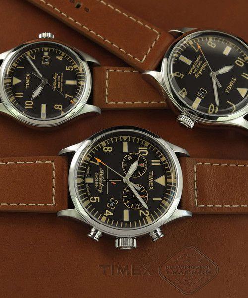 Timex + Redwing Chronograph Watch
