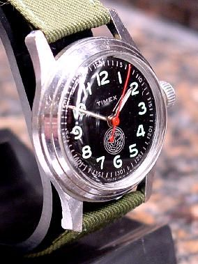 Timex US Navy Military Watch 1954 Boy Scouts